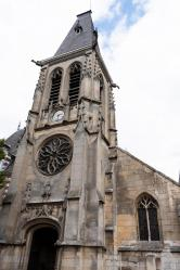 église St. Thomas de Cantorbéry - Rouen - Mt-St-Aignan - vue ext